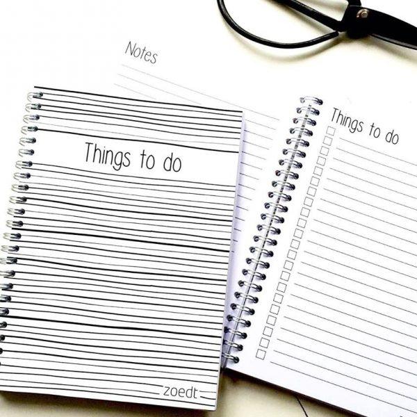 Planners en notitieblokken